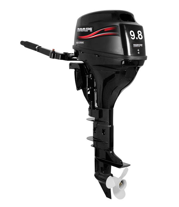 Mapi f9 8hp short shaft four stroke outboard motor for 9 9 hp long shaft outboard motor